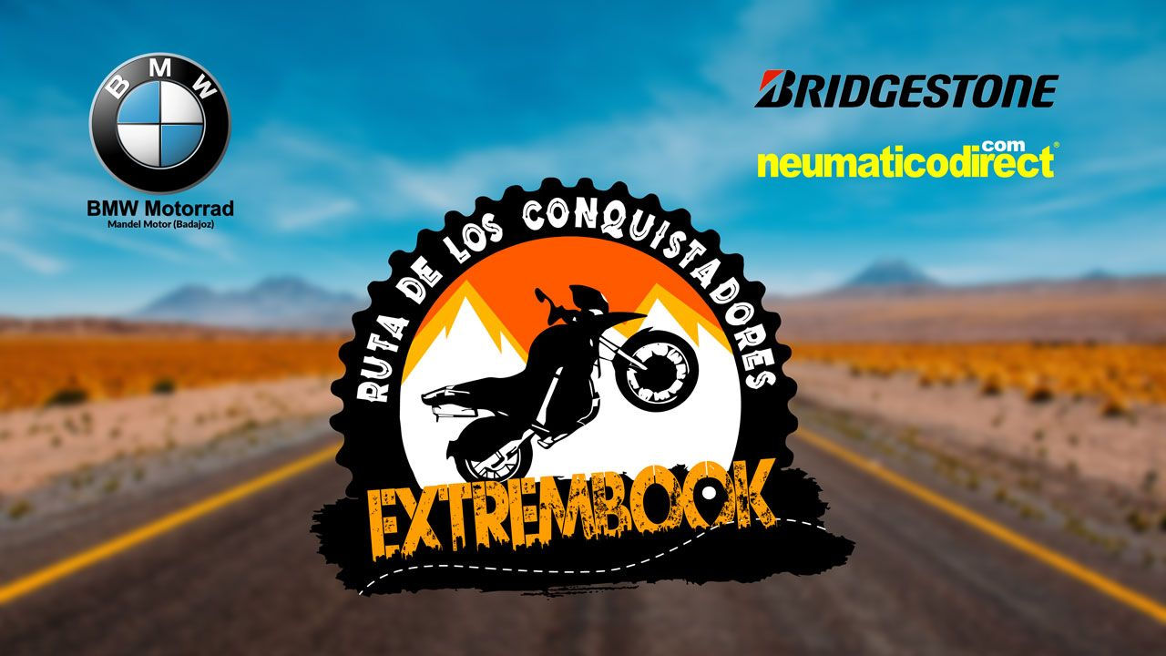 EXTREMBOOK Ruta de los conquistadores Viaje en moto trail